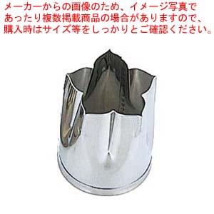 【まとめ買い10個セット品】 EBM 18-8 手造り業務用 抜型 5Pcs 秋 桔梗