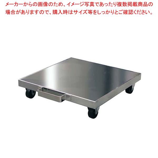 【まとめ買い10個セット品】 ステンレス炊飯台車 RTK-500 500×500×95【 炊飯器・スープジャー 】