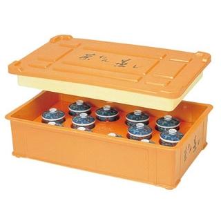 【まとめ買い10個セット品】 保温 茶碗蒸しコンテナー(12人用)HC-9 1-114-3 sale