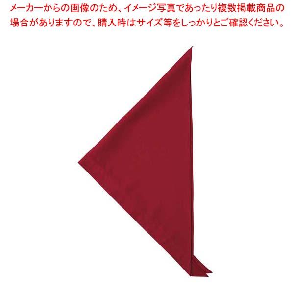 【まとめ買い10個セット品】 三角巾 JY4672-2 エンジ フリー【 ユニフォーム 】