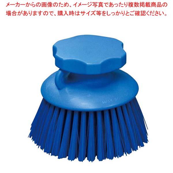 【まとめ買い10個セット品】 HPハンドブラシ 丸型 ブルー 55865【 清掃・衛生用品 】