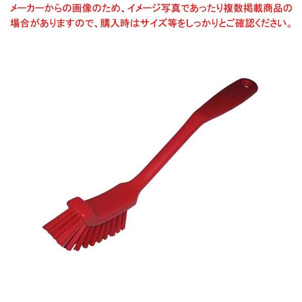 【まとめ買い10個セット品】 HPディッシュブラシ スリム レッド 55822