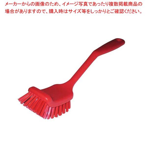 【まとめ買い10個セット品】 HPディッシュブラシ ワイド レッド 55832【 清掃・衛生用品 】