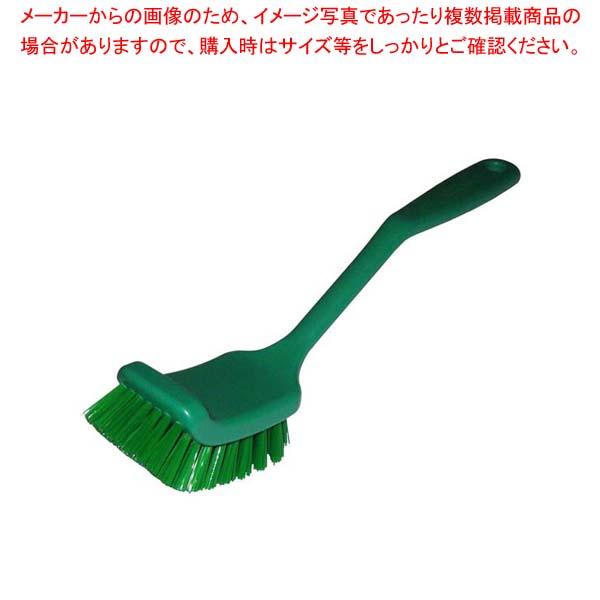 【まとめ買い10個セット品】 HPディッシュブラシ ワイド グリーン 55834【 清掃・衛生用品 】