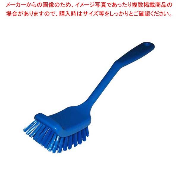 【まとめ買い10個セット品】 HPディッシュブラシ ワイド ブルー 55835【 清掃・衛生用品 】