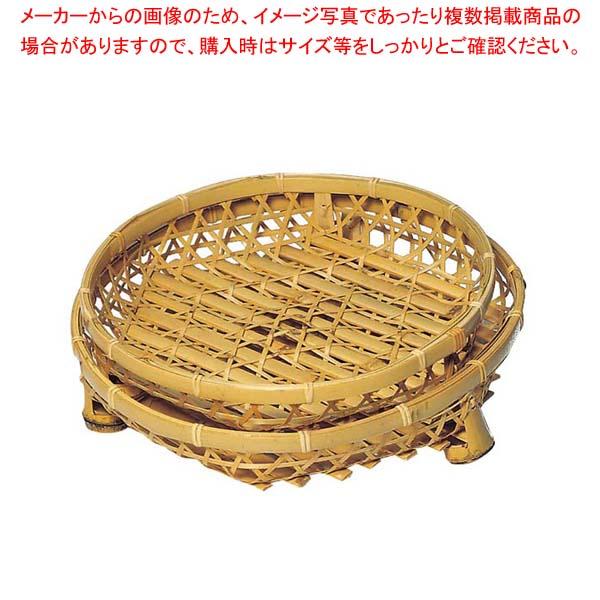 【まとめ買い10個セット品】 白竹 オードブル皿(足付)30cm 21-946A【 料理演出用品 】
