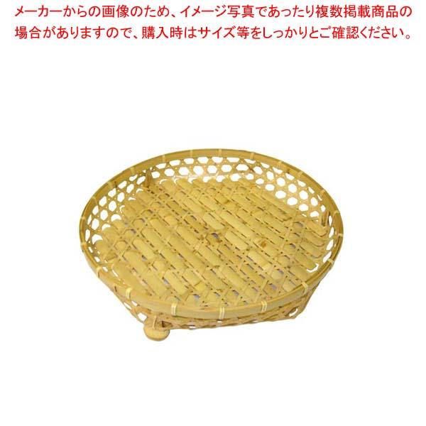 【まとめ買い10個セット品】 白竹 オードブル皿(足付)39cm 21-946E