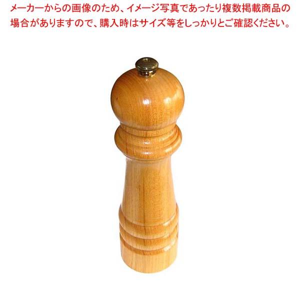 【まとめ買い10個セット品】 IKEDA ペパーミル(ケヤキ)7111【 ペパーミル 業務用 胡椒挽き 胡椒挽き 】