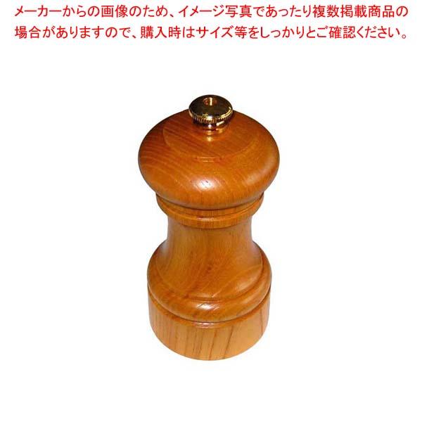 【まとめ買い10個セット品】 IKEDA ペパーミル(ケヤキ)3111【 卓上小物 】