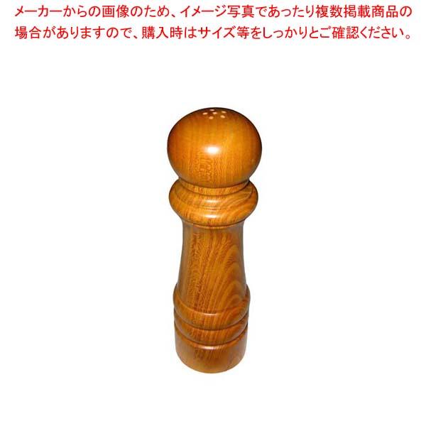 【まとめ買い10個セット品】 IKEDA ソルト入れ(ケヤキ)7112