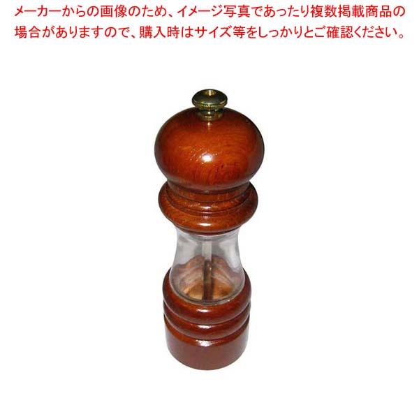 【まとめ買い10個セット品】 IKEDA クリスタルウッド ペパーミル 6701【 卓上小物 】