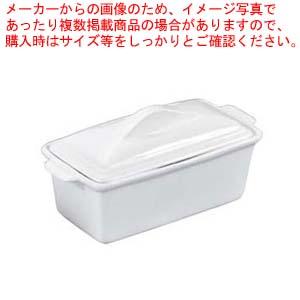 【まとめ買い10個セット品】 陶器製 ホワイトテリーヌ M【 オーブンウェア 】