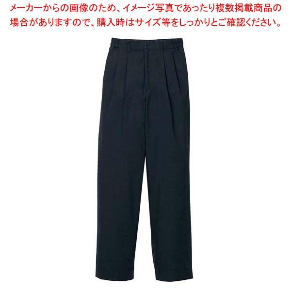 【まとめ買い10個セット品】 ツータックパンツ(女性用)KP002L-7 黒 9号