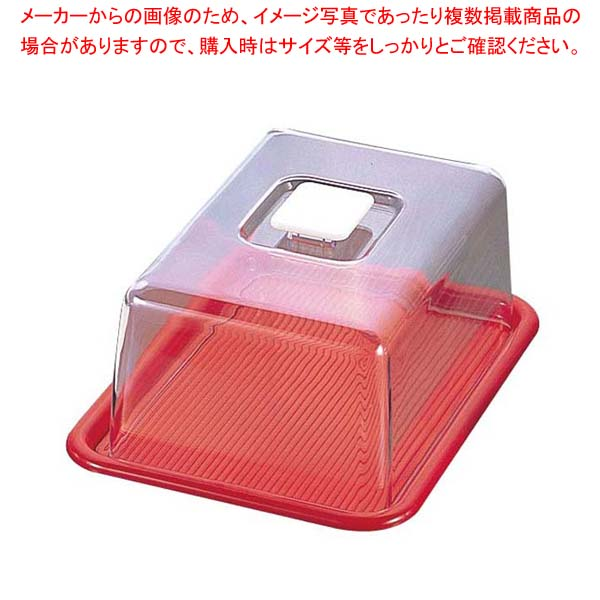 【まとめ買い10個セット品】 ラブリーハット 角型 特大 赤 MT-536 16インチ