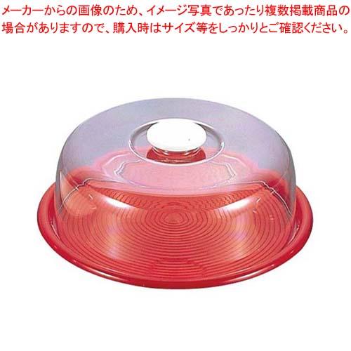 【まとめ買い10個セット品】 ラブリーハット 丸ケーキフード 中 赤 MT-548 12インチ【 ディスプレイ用品 】 【 バレンタイン 手作り 】
