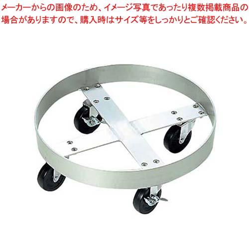 アルミ ペール台車 No.400 内寸φ400(75L用)【 清掃・衛生用品 】