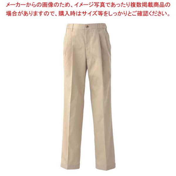 【まとめ買い10個セット品】 チノパンツ(男女兼用)UL7709-6 ベージュ 4L