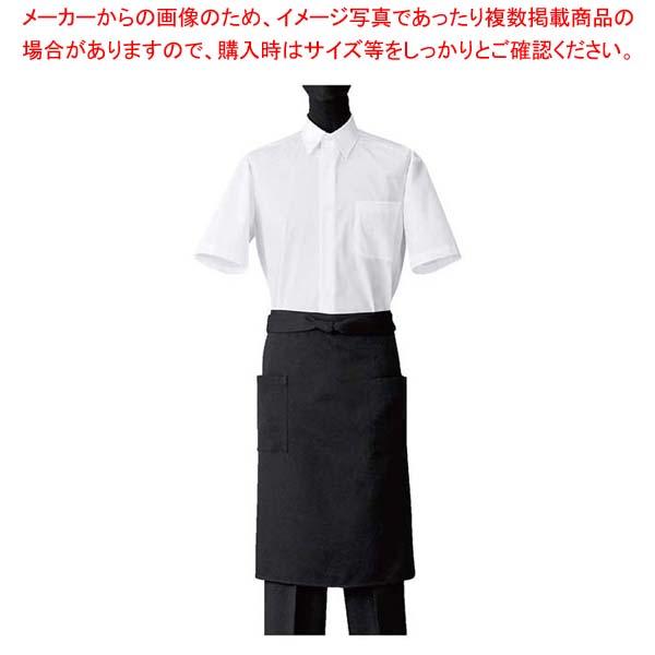 フリー【 】 ユニフォーム ブラック CT2522-9 エプロン 【まとめ買い10個セット品】