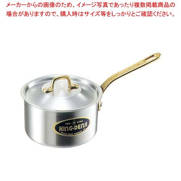 【まとめ買い10個セット品】 キングデンジ 深型片手鍋(目盛付)24cm【 片手鍋 業務用 】