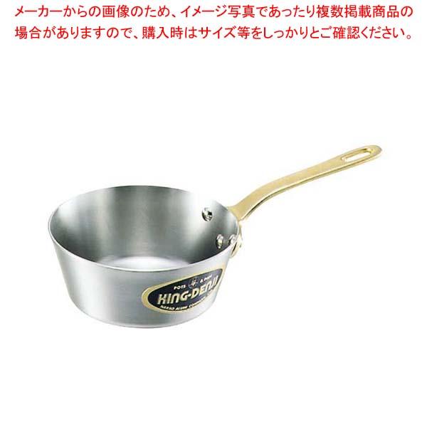 【まとめ買い10個セット品】 キングデンジ テーパー付 ソテーパン 24cm【 IH・ガス兼用鍋 】