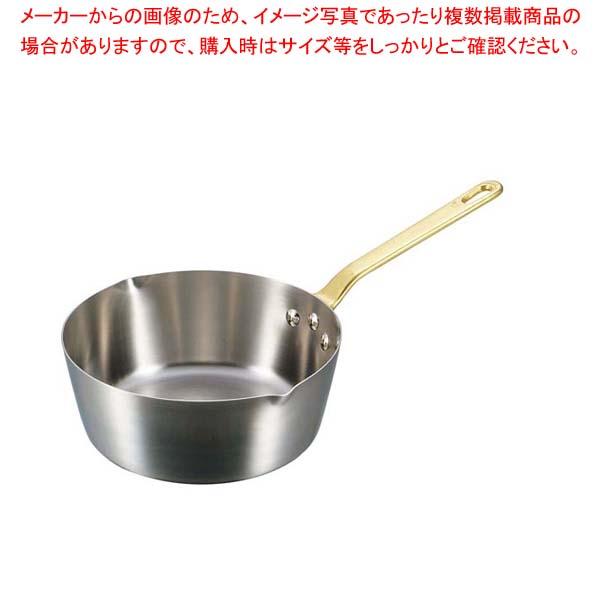 【まとめ買い10個セット品】 キングデンジ 雪平鍋(目盛付)27cm【 IH・ガス兼用鍋 】