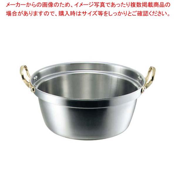 【まとめ買い10個セット品】 キングデンジ 料理鍋(目盛付)45cm【 IH・ガス兼用鍋 】