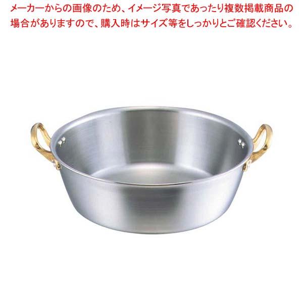 キングデンジ 揚鍋(目盛付)30cm(板厚2.5mm)【 IH・ガス兼用鍋 】