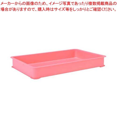 【まとめ買い10個セット品】 EBM PPカラー番重 A型 特大 ピンク(サンコー製)【 運搬・ケータリング 】