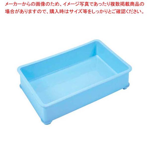 【まとめ買い10個セット品】 EBM PPカラー番重 A型 小 ブルー(サンコー製)【 運搬・ケータリング 】