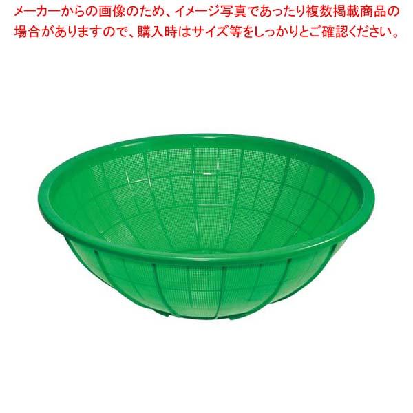 【まとめ買い10個セット品】 サンコー ザル 大 グリーン