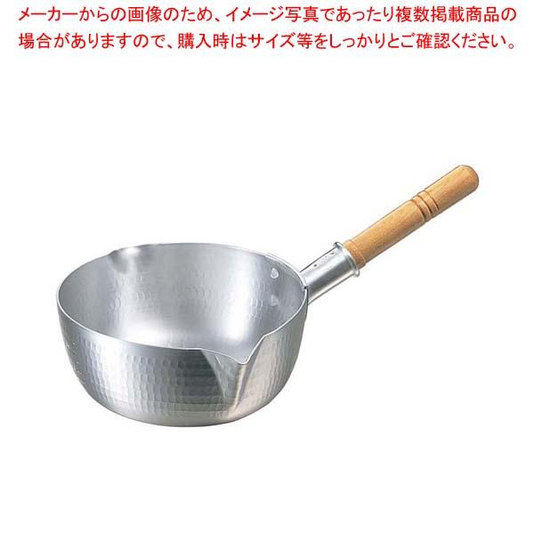 【まとめ買い10個セット品】 アルミ 打出ペリカン 雪平鍋(目盛付)22.5cm【 鍋全般 】