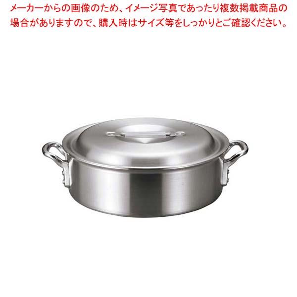 【まとめ買い10個セット品】 アルミ バリックス 外輪鍋(磨き仕上げ)33cm【 ガス専用鍋 】