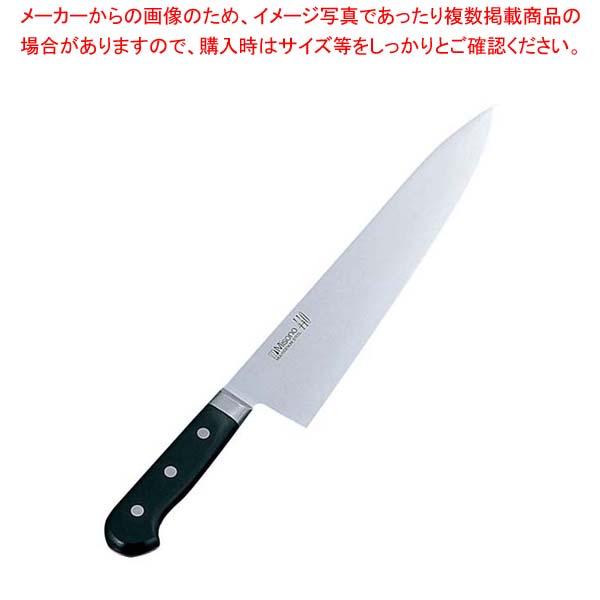 【まとめ買い10個セット品】 ミソノ 440 モリブデン鋼 牛刀 No.813 24cm【 庖丁 】