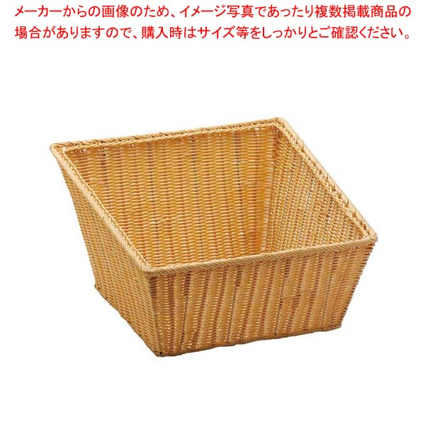 【まとめ買い10個セット品】 PP 角型バスケット L 40153【 ディスプレイ用品 】 【 バレンタイン 手作り 】