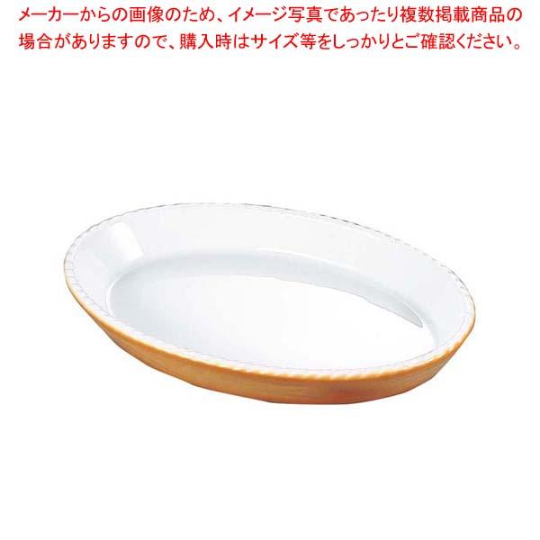 【まとめ買い10個セット品】 バウシャ 小判型 グラタン皿 784-24 カラー