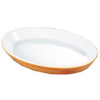 【まとめ買い10個セット品】 バウシャ 小判型 グラタン皿 784-36 カラー