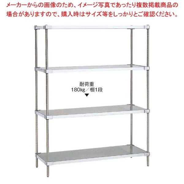 18-8 ソリッドエレクターシェルフ 4段 PS2200×LSS1220S sale【 メーカー直送/代金引換決済不可 】
