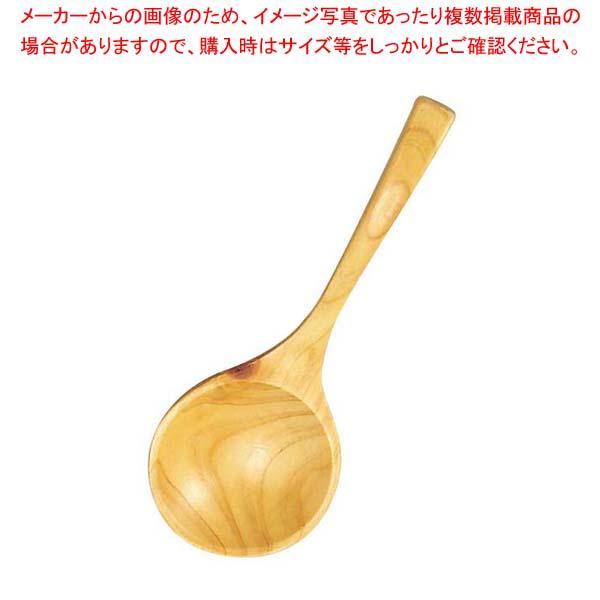 【まとめ買い10個セット品】 ひのき 煮豆スプーン 全長160【 卓上鍋・焼物用品 】