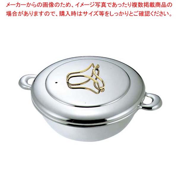 【まとめ買い10個セット品】 プロデンジ しゃぶしゃぶ鍋(ツマミ金仕上)23cm