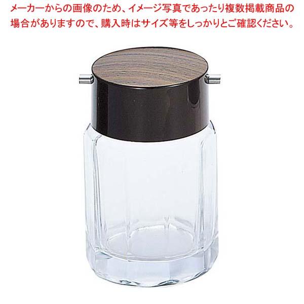 【まとめ買い10個セット品】 木目 正油入れ 大 ガラス製 MO-1L【 卓上小物 】