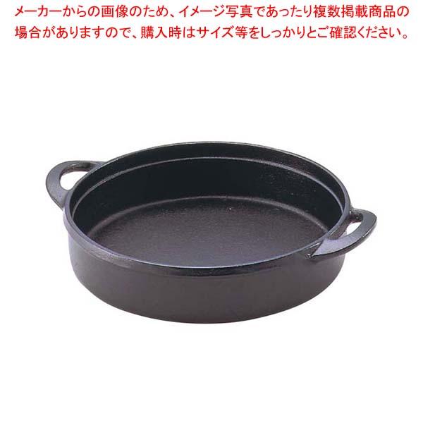 【まとめ買い10個セット品】 IK 鉄 一人用 すきやき鍋 共柄 17cm【 卓上鍋・焼物用品 】