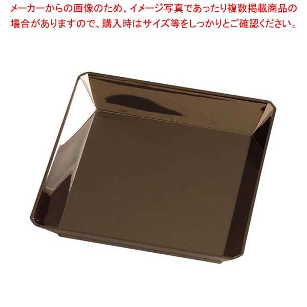 【まとめ買い10個セット品】 ソリア クォーツプレート(25入)シルバー PS30444 130×130