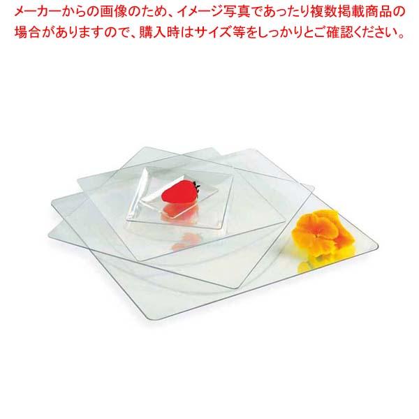 【まとめ買い10個セット品】 ソリア フルイド クリア PL20230(10入)160×160【 厨房消耗品 】