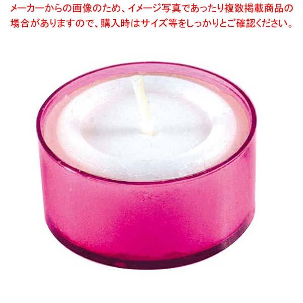 【まとめ買い10個セット品】 カラークリアカップティーライト(24個入)S8351 PKピンク