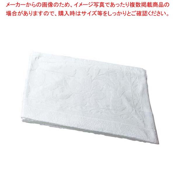 【まとめ買い10個セット品】 タオルケット #270 白 1400×1900【 店舗備品・防災用品 】