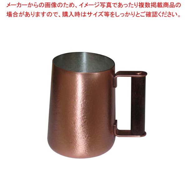 【まとめ買い10個セット品】 銅 ビールジョッキー(キングカッパー)大 手付