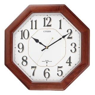 【まとめ買い10個セット品】シチズン 電波掛時計 ネムリーナハピネス 8MY472-006【 メーカー直送/後払い決済不可 】
