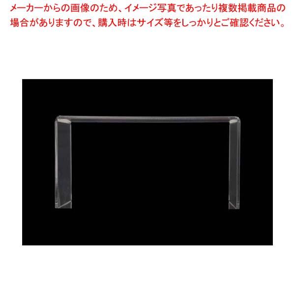 【まとめ買い10個セット品】 アクリル ディスプレイ コの字展示台 30639 特大【 ディスプレイ用品 】