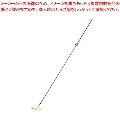 【まとめ買い10個セット品】 18-8(金メッキ付)ゴルフマドラー ゴールド パター