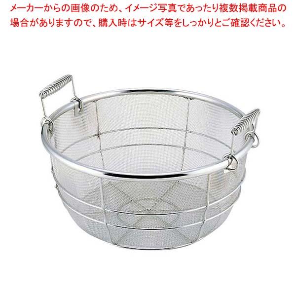 【まとめ買い10個セット品】 18-8 料理鍋用 揚げザル(手付)42cm用(内径400)【 鍋全般 】